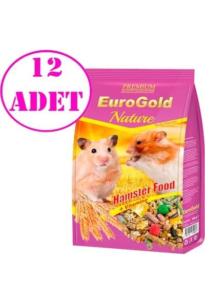 Eurogold Hamster Yemi 500 gr 12 Adet