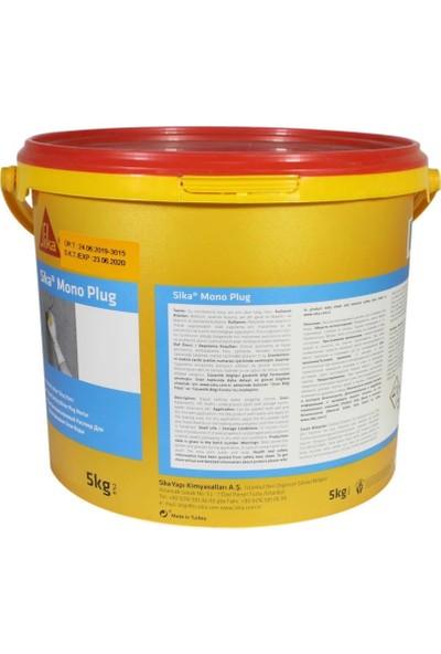 Sika Monoplug Su Tıkaç Harcı Yalıtım Malzemesi Tıkacı Gri 5 kg
