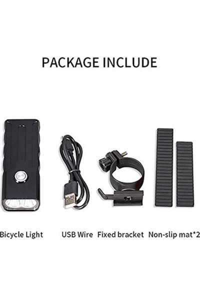 Havana 1000 Lümen USB Şarjlı Bisiklet Ön Far Işık Fener