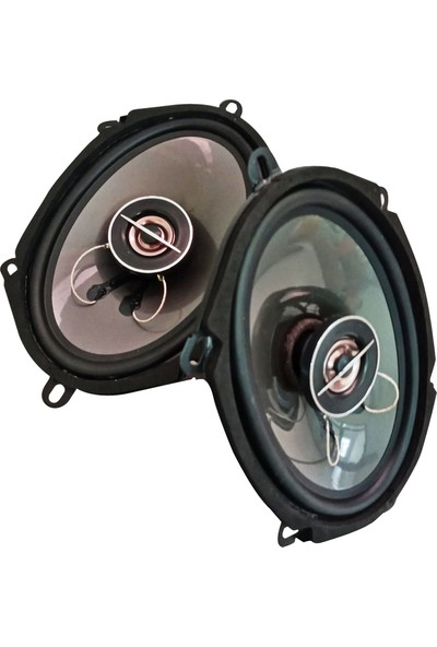 BM Audio Oval Oto Hoparlör 2'li Set 5744 5 x 7 cm