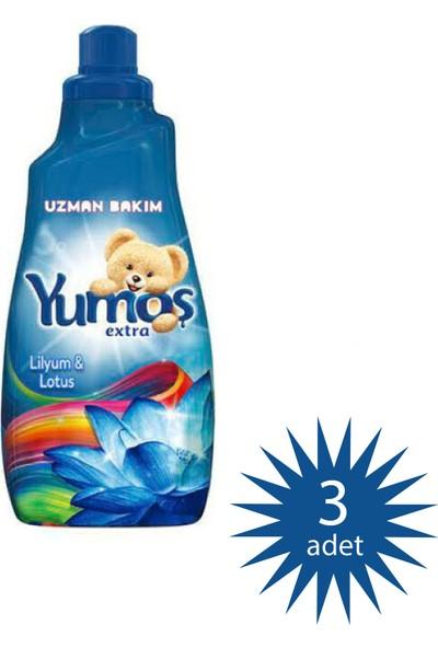 Yumoş Extra Lilyum Konsantre Çamaşır Yumuşatıcı 1440 ml 60 Yıkama 3 Paket