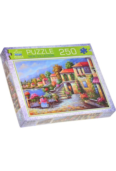 Laço Kids Tarihi Manarola Puzzle 250 Parça