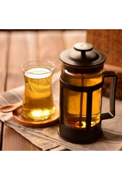 Penguen Png 2301 French Press Süzgeçli Çay Kahve Kupası 600 ml