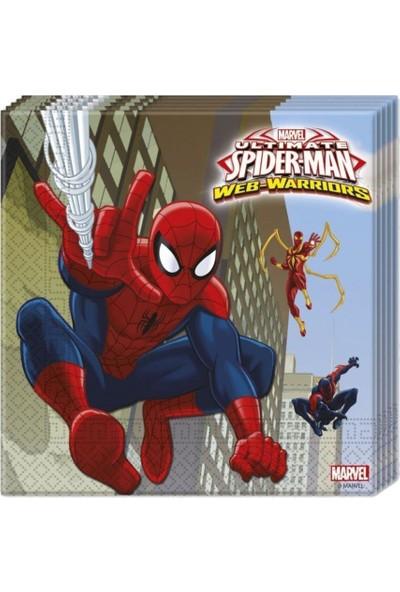Partipan Spiderman Lisanslı Parti Seti 8 Kişilik