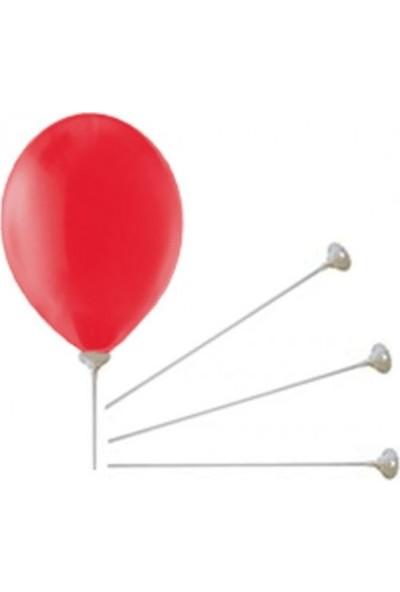 Acar Süs Balon Çubuğu ve Hunisi 70 cm 10'lu