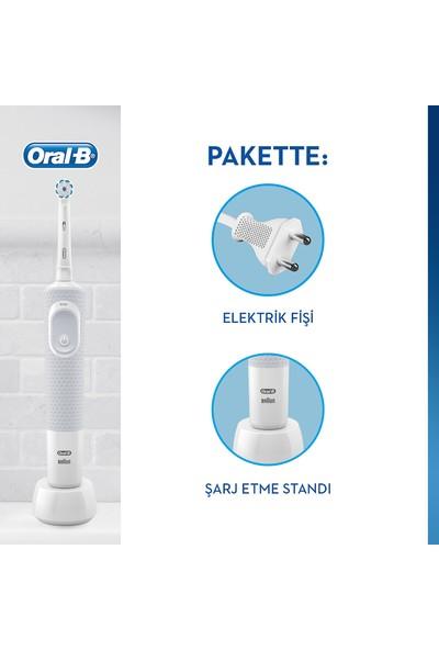 Oral-B Vitality D100 Sensi Ultra Thin Elektrikli Diş Fırçası + Diş Macunu