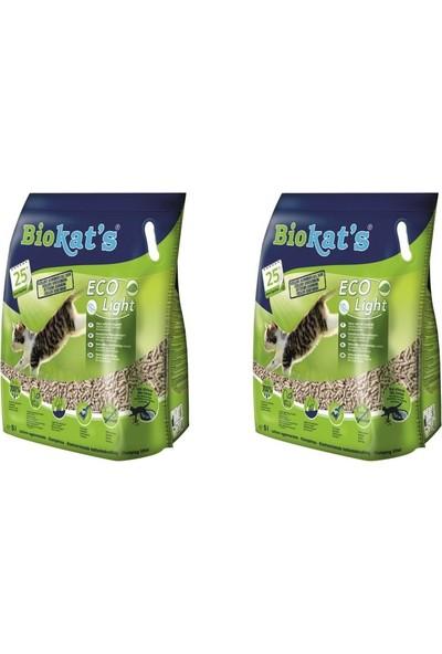 Bio Cat's Pelet Kedi Kumu Eco Light 5 lt - 2'li