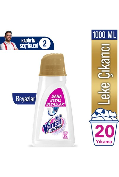 Vanish Gold Pembe + Beyaz 1 lt x 2