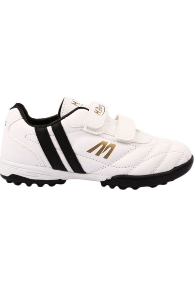 M.P Mp 7374 Ft Beyaz Cırtlı Erkek Çocuk Halısaha Ayakkabı