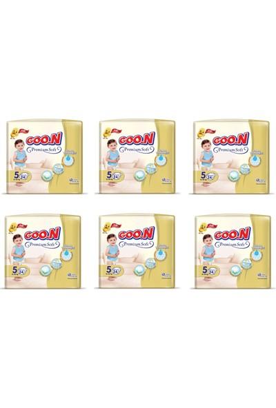 Goon Soft Bebek Bezi 5 Beden Süper Paket 144'LÜ