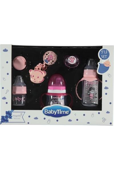 Baby Time 5'li Set Pembe