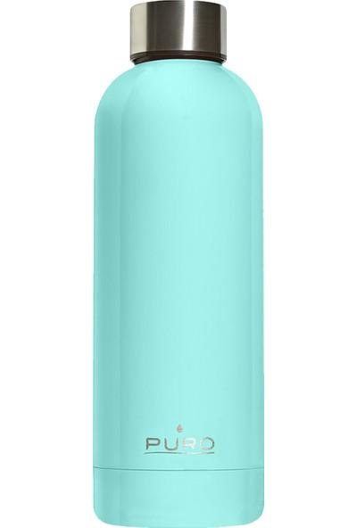 Puro Hot&Cold Paslanmaz Çelik Termos Parlak Açık Mavi 500 ml