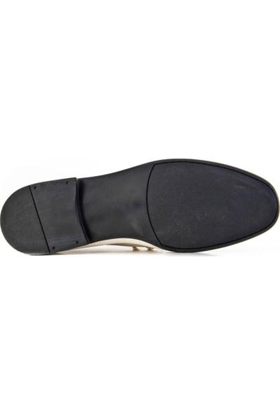 Cabani Ayakkabı Bej Deri8Yea66Ay009V78