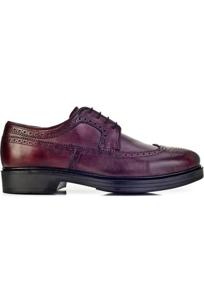 Cabani Ayakkabı Bordo Deri9Kea07Ay056C45