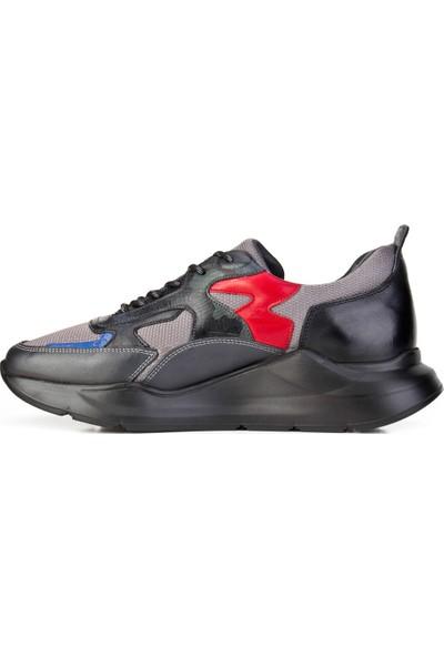 Cabani Ayakkabı Gri Deri9Kea07Ay024E85