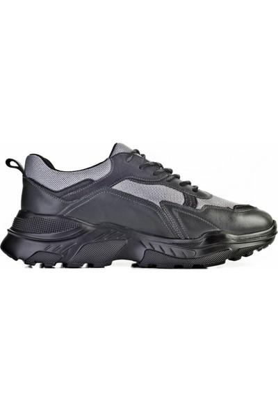 Cabani Ayakkabı Gri Napa Deri9Yea07Ay284C08