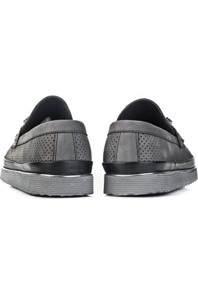 Cabani Ayakkabı Gri Nubuk0Yeg10Ay001132