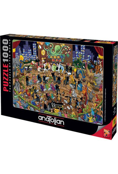 Art 1090 Sempatik Konser 1000Pcs Puzzle Anatolian