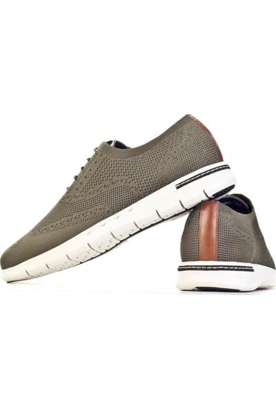 Cabani Ayakkabı Olıve Triko9Yea07Ay258D39
