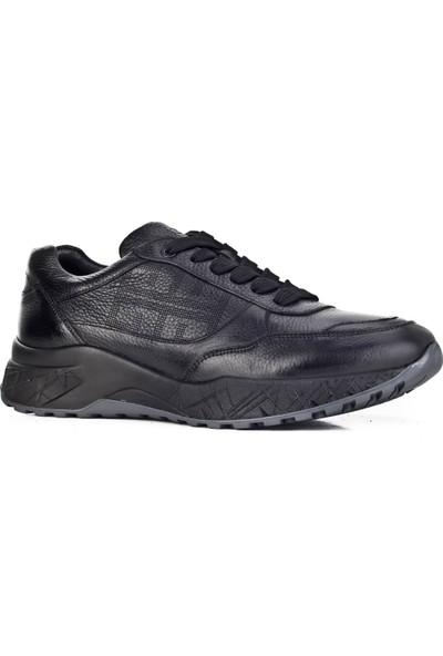 Cabani Ayakkabı Siyah Naturel Floter Deri9Kea07Ay036L96