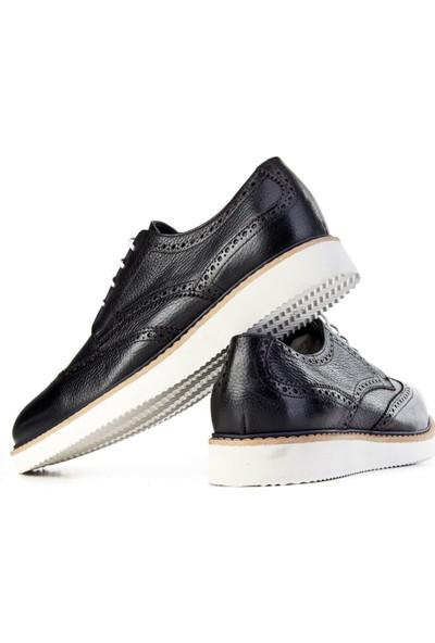 Cabani Ayakkabı Siyah Naturel Floter Deri9Yea07Ay156L96