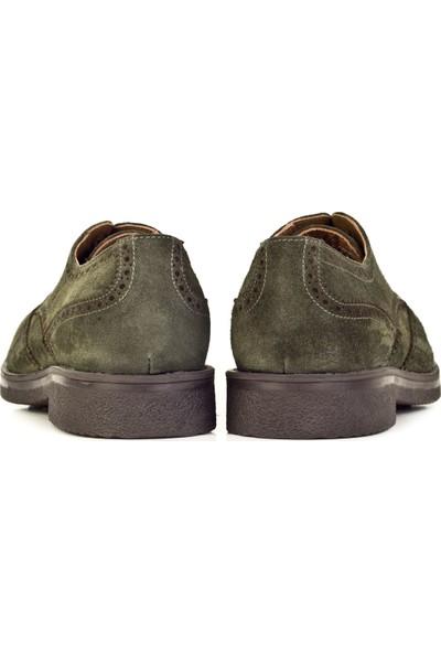 Cabani Ayakkabı Yeşil Deri8Kea07Ay087J42
