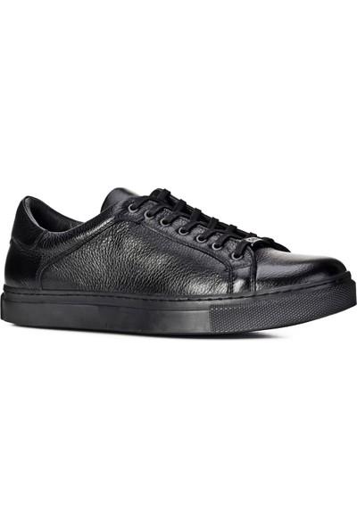 Cabani Ayakkabı Siyah Naturel Floter Deri9Yea07Ay095L96