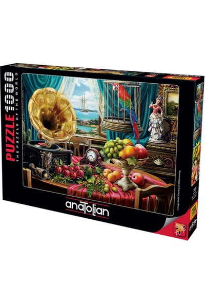 Art 1085 Gramafon Still Life 1000Pcs Puzzle Anatolian