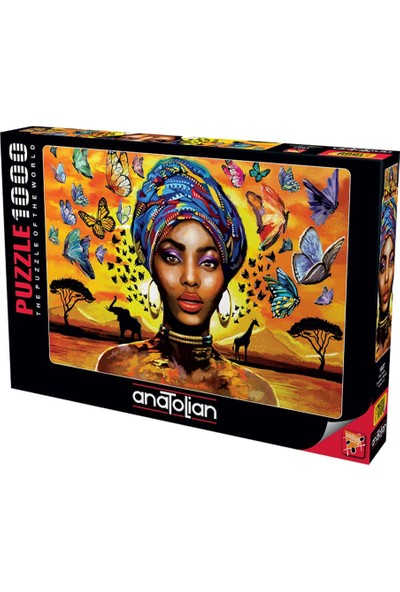 Art 1087 Hoş Kadın Delightful Woman 1000Pcs Puzzle Anatolian