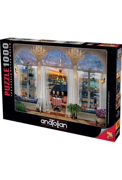 Art 1091 Paris Teras Manzarası 1000Pcs Puzzle Anatolian