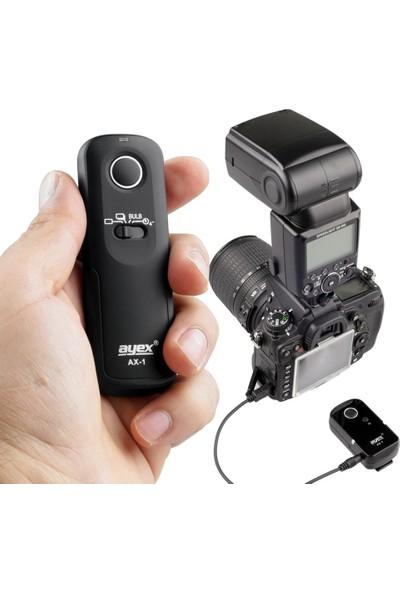 Ayex Sony Alpha A900 A850 A700 A580 A57 A35 A99 A77 İçin Ax-1 S1 Kablosuz Kumanda