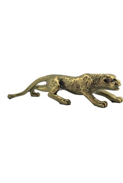 Gökçe Dekoratif Puma Biblo 27 cm