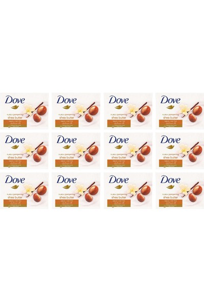 Dove Cream Bar Shea Butter 100 gr 12'li Paket