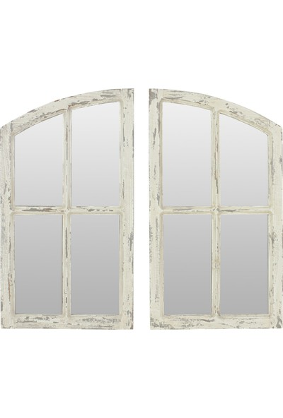 Beyma Home Clarisse Dekoratif Pencere Ayna