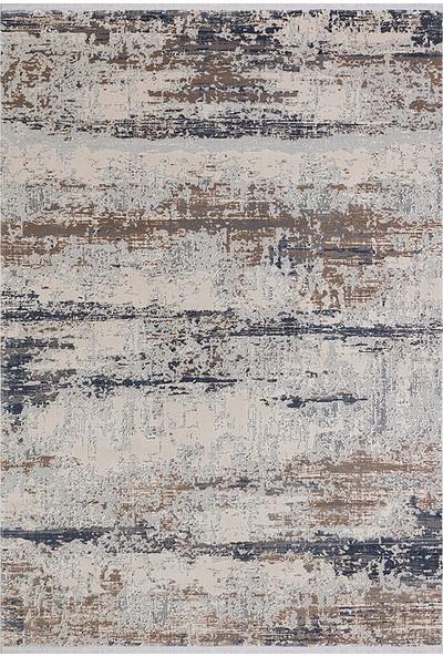 Halı Stores Renkli Halı Trend 15463A Bej Mavi 80 x 150 cm