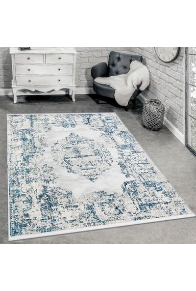 Halı Stores Osmanlı Desenli Klasik Halı Trend 16309A Mavi 160 x 230 cm