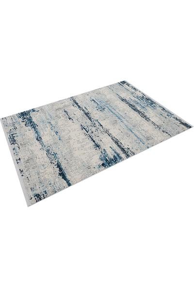 Halı Stores Renkli Halı Trend 15463A Krem Mavi 80 x 150 cm