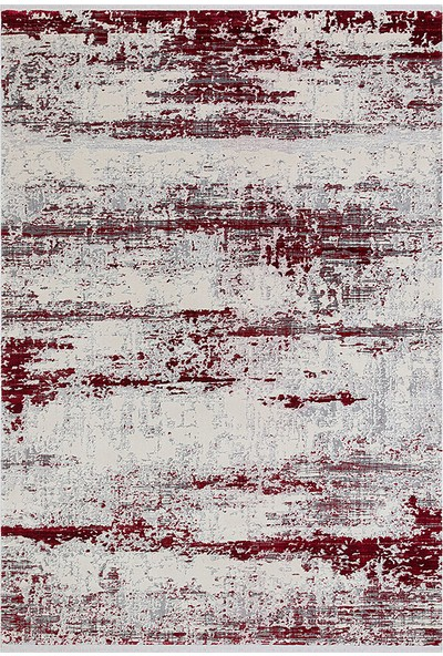 Halı Stores Renkli Halı Trend 15463A Krem Kırmızı 80 x 150 cm