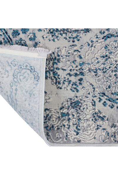 Halı Stores Renkli Halı Trend 16310A Krem Mavi 80 x 150 cm