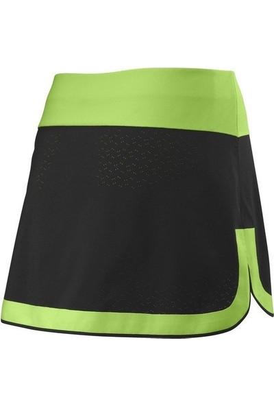 Wilson UWII Perf 12.5 Siyah Kadın Tenis Eteği WRA763602