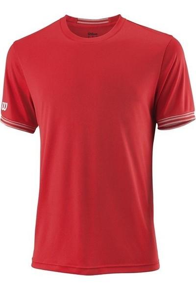 Wilson Team Solid Crew Erkek Tenis T-Shirt wra765305