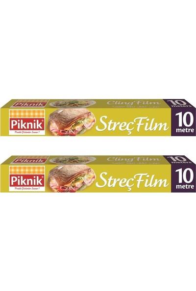 Piknik Gıda Ambalaj Streç Film 10 mt 2'li