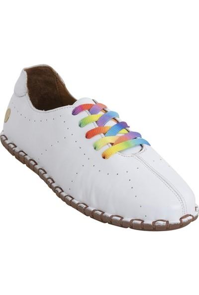 Messimod 2902 Kadın Casual Ayakkabı Beyaz