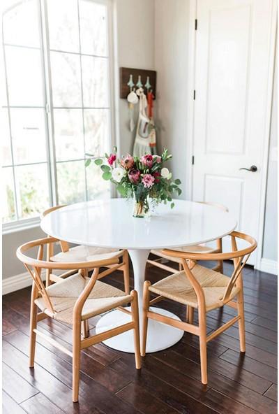 Sandalye Online Wishbone Ahşap İskandinav Sandalye Natural