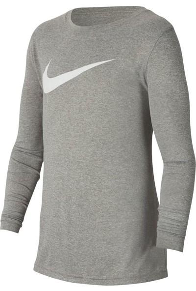 Nike B Dry Tee Leg Ls Swsh Erkek Çocuk Sweatshirt Ar5313-064