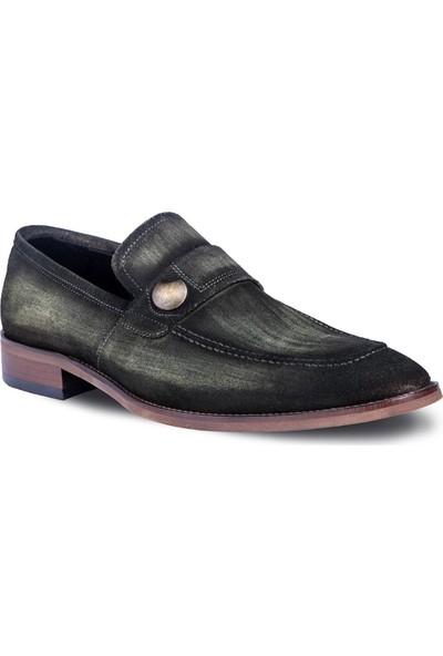 Tigana Erkek Terry Haki Süet Klasik Ayakkabı