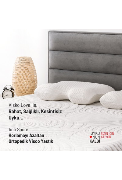 Visko Love Anti Snore Horlamayı Azaltan Visco Yastık