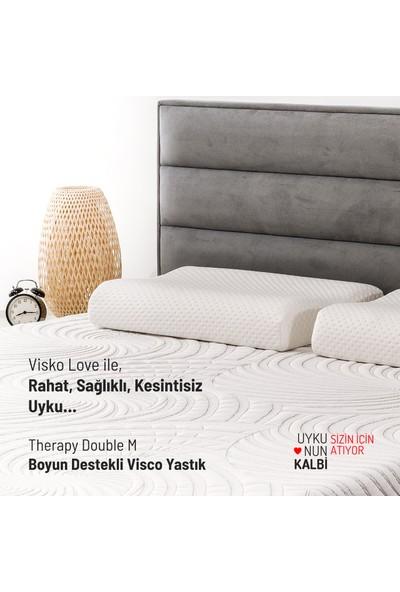 Visko Love Therapy Double-M, Boyun Destekli Visco Yastık