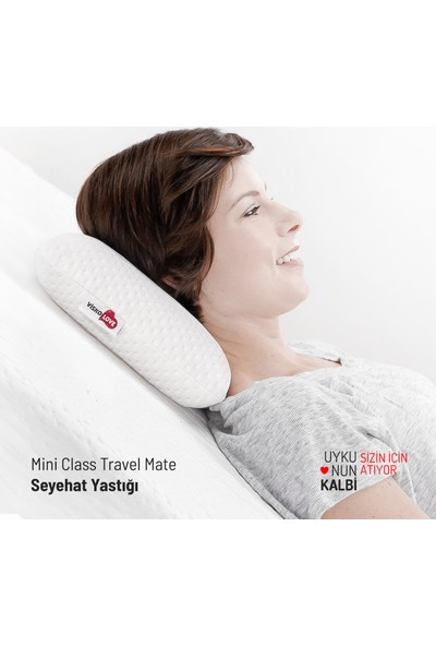 Visko Love Mini Class Travel Mate, Visco Seyehat Yastığı