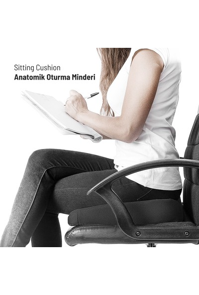 Visko Love Sitting Cushion Anatomik Oturma Minderi